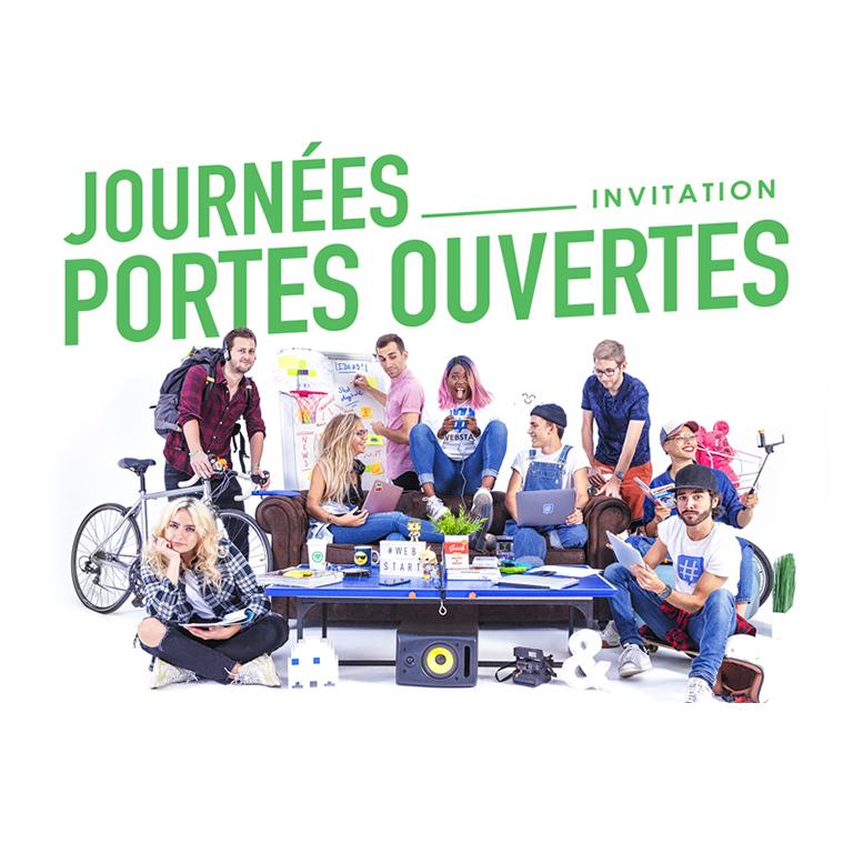 Webstart - Journées portes ouvertes Paris Lille
