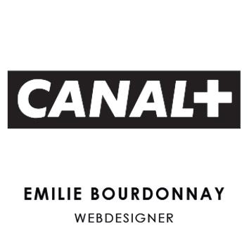 logo canal + emilie bourdonnay