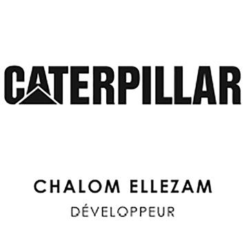 logo caterpillar chalom ellezam