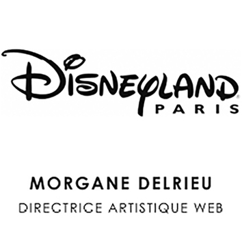 logo disneyland morgane delrieu