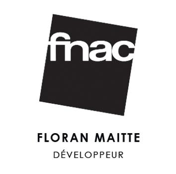 logo fnac floran maitte