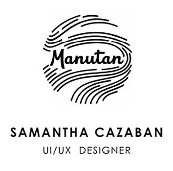 logo manutan samantha cazaban