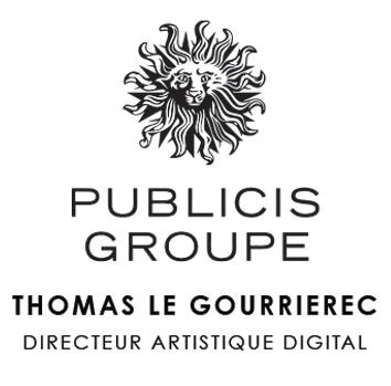 logo publicis thomas le gourrierec