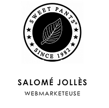 logo sweet pants salomé jollès