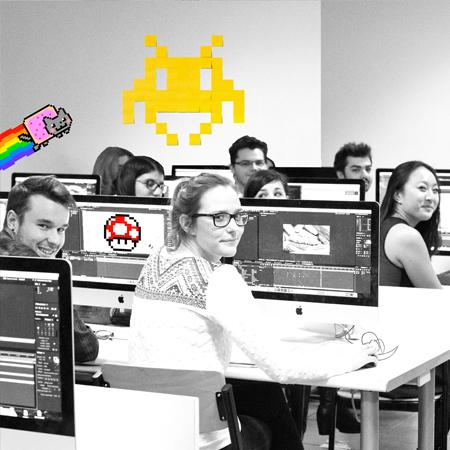 webstart des élèves durant un cours sur ordinateurs