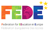 logo FEDE Federation for education in Europe