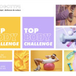 Logotype direction artistique web top body challenge