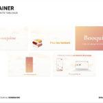 explainer maquette web